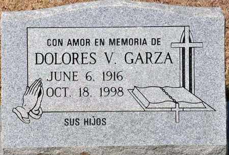 GARZA, DOLORES V - Tarrant County, Texas | DOLORES V GARZA - Texas Gravestone Photos