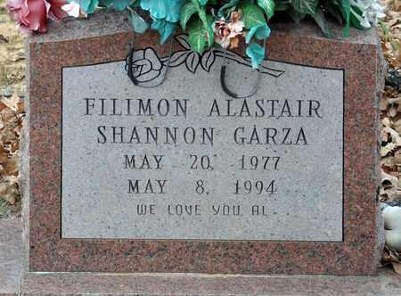 GARZA, FILIMON ALASTAIR SHANNON - Tarrant County, Texas   FILIMON ALASTAIR SHANNON GARZA - Texas Gravestone Photos
