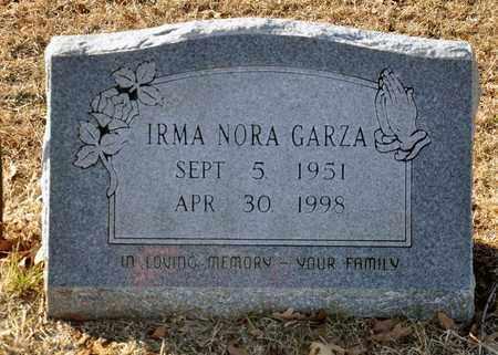 GARZA, IRMA NORA - Tarrant County, Texas   IRMA NORA GARZA - Texas Gravestone Photos