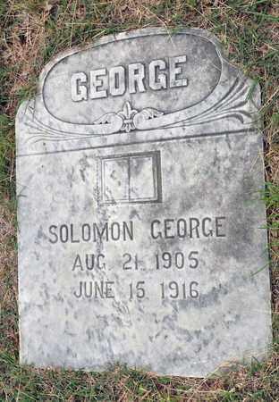 GEORGE, SOLOMON - Tarrant County, Texas | SOLOMON GEORGE - Texas Gravestone Photos