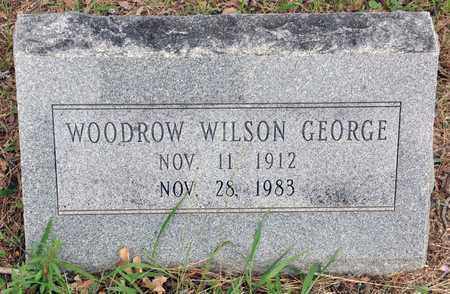 GEORGE, WOODROW WILSON - Tarrant County, Texas | WOODROW WILSON GEORGE - Texas Gravestone Photos