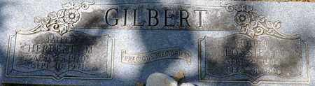 GILBERT, LOSSIE F - Tarrant County, Texas | LOSSIE F GILBERT - Texas Gravestone Photos