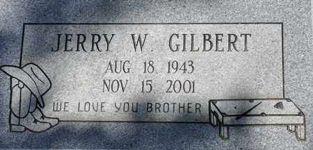 GILBERT, JERRY W - Tarrant County, Texas | JERRY W GILBERT - Texas Gravestone Photos