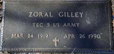 GILLEY (VETERAN), ZORAL - Tarrant County, Texas | ZORAL GILLEY (VETERAN) - Texas Gravestone Photos
