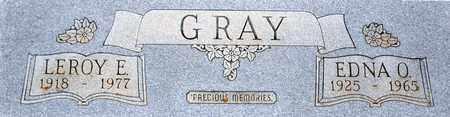 GRAY, LEROY EDWARD - Tarrant County, Texas | LEROY EDWARD GRAY - Texas Gravestone Photos