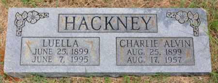 HACKNEY, CHARLIE ALVIN - Tarrant County, Texas | CHARLIE ALVIN HACKNEY - Texas Gravestone Photos