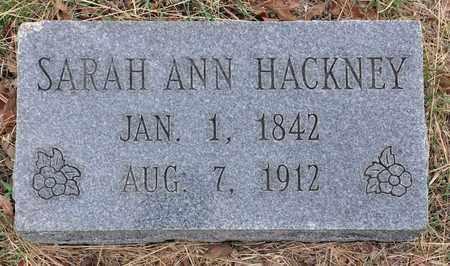 HACKNEY, SARAH ANN - Tarrant County, Texas | SARAH ANN HACKNEY - Texas Gravestone Photos