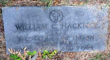 HACKNEY (VETERAN WWII), WILLIAM C - Tarrant County, Texas | WILLIAM C HACKNEY (VETERAN WWII) - Texas Gravestone Photos