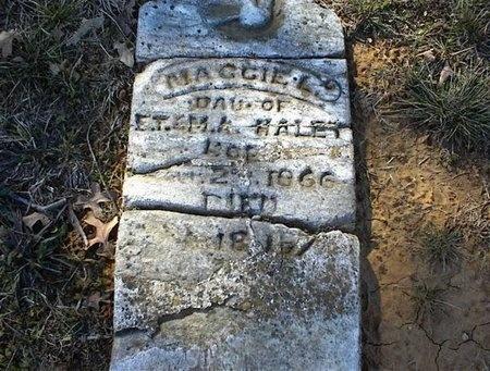 HALEY, MAGGIE L - Tarrant County, Texas | MAGGIE L HALEY - Texas Gravestone Photos