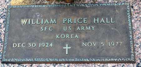 HALL (VETERAN KOR), WILLIAM PRICE - Tarrant County, Texas   WILLIAM PRICE HALL (VETERAN KOR) - Texas Gravestone Photos