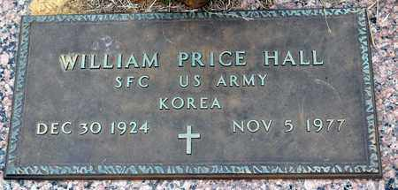 HALL (VETERAN KOR), WILLIAM PRICE - Tarrant County, Texas | WILLIAM PRICE HALL (VETERAN KOR) - Texas Gravestone Photos