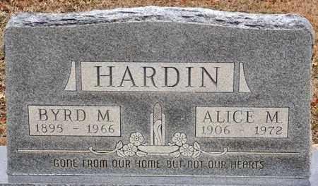 HARDIN, ALICE MARIE - Tarrant County, Texas | ALICE MARIE HARDIN - Texas Gravestone Photos