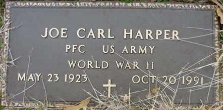 HARPER (VETERAN WWII), JOE CARL - Tarrant County, Texas | JOE CARL HARPER (VETERAN WWII) - Texas Gravestone Photos