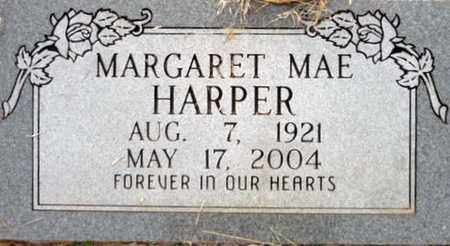 HARPER, MARGARET MAE - Tarrant County, Texas | MARGARET MAE HARPER - Texas Gravestone Photos