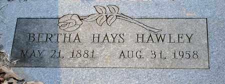 HAYS HAWLEY, BERTHA E - Tarrant County, Texas | BERTHA E HAYS HAWLEY - Texas Gravestone Photos