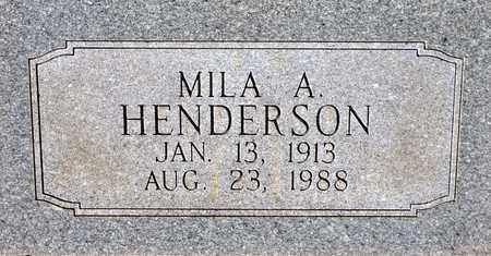 HENDERSON, MILA ARLENA - Tarrant County, Texas | MILA ARLENA HENDERSON - Texas Gravestone Photos
