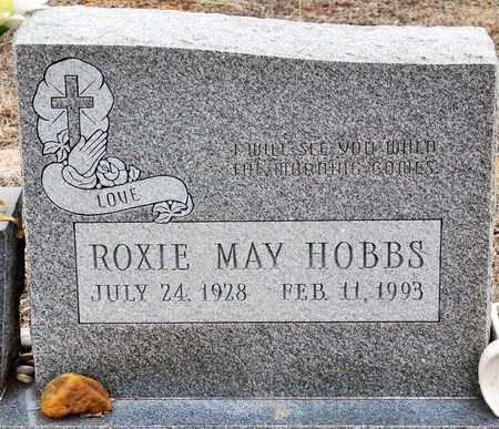 DANIELS HOBBS, ROXIE MAY - Tarrant County, Texas | ROXIE MAY DANIELS HOBBS - Texas Gravestone Photos