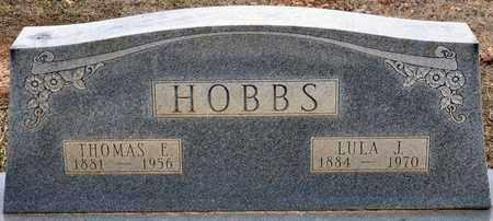 GRESHAM HOBBS, LULA JANE - Tarrant County, Texas | LULA JANE GRESHAM HOBBS - Texas Gravestone Photos