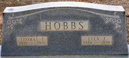 HOBBS, LULA JANE - Tarrant County, Texas | LULA JANE HOBBS - Texas Gravestone Photos