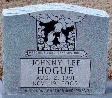 HOGUE, JOHNNY LEE - Tarrant County, Texas | JOHNNY LEE HOGUE - Texas Gravestone Photos