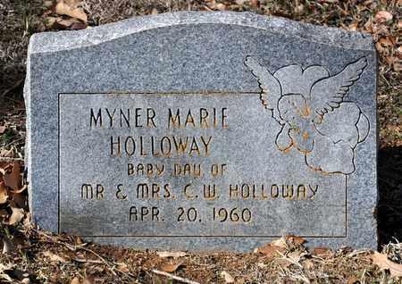 HOLLOWAY, MYNER MARIE - Tarrant County, Texas   MYNER MARIE HOLLOWAY - Texas Gravestone Photos