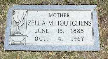 HOUTCHENS, ZELLA VASTI - Tarrant County, Texas | ZELLA VASTI HOUTCHENS - Texas Gravestone Photos