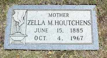 MARTIN HOUTCHENS, ZELLA VASTI - Tarrant County, Texas   ZELLA VASTI MARTIN HOUTCHENS - Texas Gravestone Photos