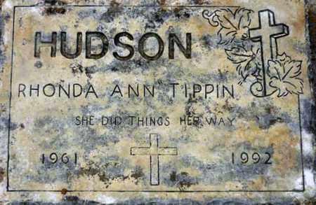 TIPPIN HUDSON, RHONDA ANN - Tarrant County, Texas | RHONDA ANN TIPPIN HUDSON - Texas Gravestone Photos