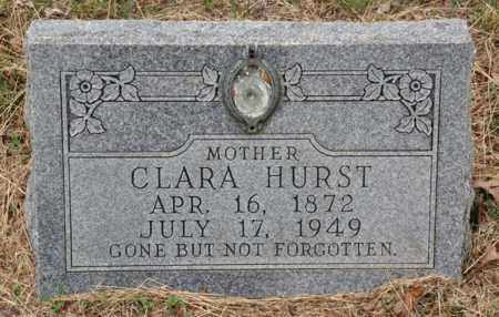 HACKNEY HURST, CLARA - Tarrant County, Texas | CLARA HACKNEY HURST - Texas Gravestone Photos