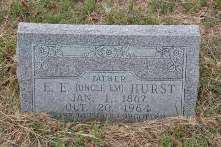 "HURST, E E ""UNCLE EM"" - Tarrant County, Texas 