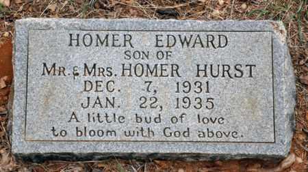 HURST, JR, HOMER EDWARD - Tarrant County, Texas | HOMER EDWARD HURST, JR - Texas Gravestone Photos