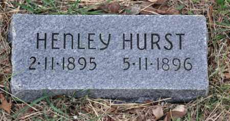 HURST, HENLEY - Tarrant County, Texas   HENLEY HURST - Texas Gravestone Photos