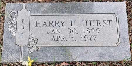 HURST, HARRY H - Tarrant County, Texas | HARRY H HURST - Texas Gravestone Photos