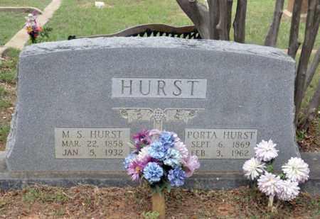 HURST, PORTA - Tarrant County, Texas | PORTA HURST - Texas Gravestone Photos