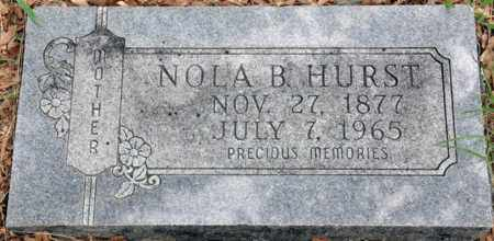 HURST, NOLA B - Tarrant County, Texas   NOLA B HURST - Texas Gravestone Photos