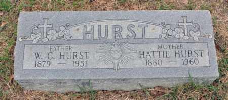 HURST, W C - Tarrant County, Texas | W C HURST - Texas Gravestone Photos