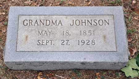 JOHNSON, GRANDMA - Tarrant County, Texas   GRANDMA JOHNSON - Texas Gravestone Photos