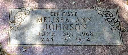 JOHNSON, MELISSA ANN - Tarrant County, Texas | MELISSA ANN JOHNSON - Texas Gravestone Photos