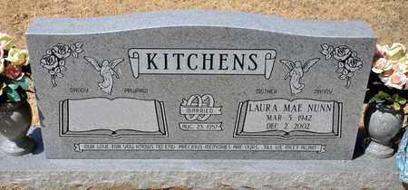NUNN KITCHENS, LAURA MAE - Tarrant County, Texas | LAURA MAE NUNN KITCHENS - Texas Gravestone Photos