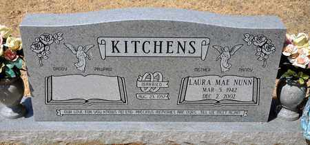 NUNN KITCHENS, LAURA MAE - Tarrant County, Texas | LAURA MAE NUNN KITCHENS - Texas Gravestone Photos