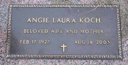 KOCH, ANGELA LAURA - Tarrant County, Texas | ANGELA LAURA KOCH - Texas Gravestone Photos