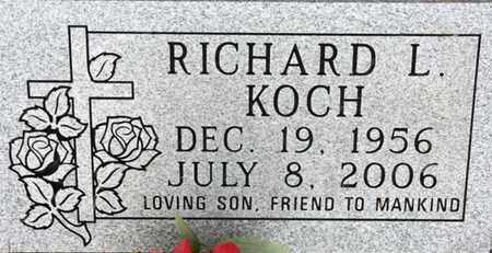 KOCH, RICHARD LYNN - Tarrant County, Texas | RICHARD LYNN KOCH - Texas Gravestone Photos