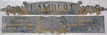 WAGONER LAMBERT, LAURA L - Tarrant County, Texas | LAURA L WAGONER LAMBERT - Texas Gravestone Photos
