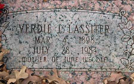 LASSITER, VERDIE LYDIAN - Tarrant County, Texas | VERDIE LYDIAN LASSITER - Texas Gravestone Photos