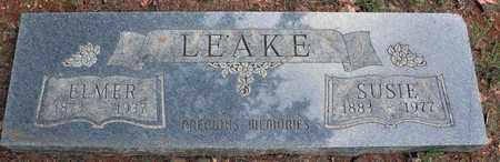 LEAKE, ELMER - Tarrant County, Texas   ELMER LEAKE - Texas Gravestone Photos