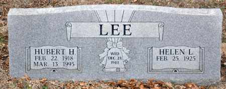LEE, HUBERT HERBERT - Tarrant County, Texas | HUBERT HERBERT LEE - Texas Gravestone Photos