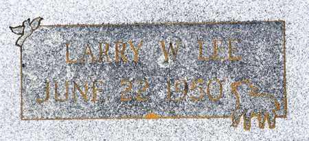 LEE, LARRY W - Tarrant County, Texas | LARRY W LEE - Texas Gravestone Photos