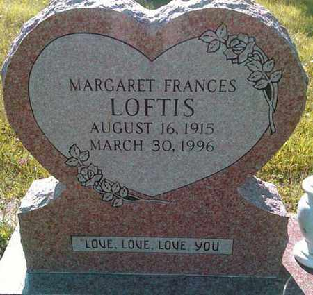 LOFTIS, MARGARET FRANCES - Tarrant County, Texas | MARGARET FRANCES LOFTIS - Texas Gravestone Photos