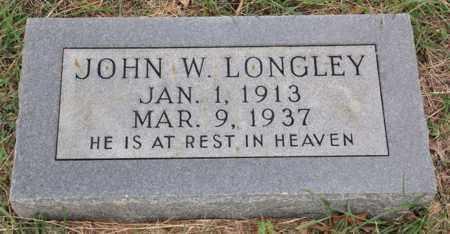 LONGLEY, JOHN W - Tarrant County, Texas | JOHN W LONGLEY - Texas Gravestone Photos