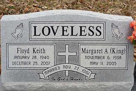 KING LOVELESS, MARGARET A - Tarrant County, Texas | MARGARET A KING LOVELESS - Texas Gravestone Photos
